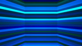 Broadcast Twinkling Horizontal Hi-Tech Bars Shaft, Blue, Abstract, Loopable, 4K. Thank you for choosing this Background stock footage