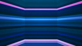 Broadcast Twinkling Horizontal Hi-Tech Bars Shaft, Blue, Abstract, Loopable, 4K. Thank you for choosing this Background stock video