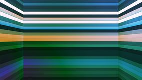 Broadcast Twinkling Horizontal Hi-Tech Bars Shaft, Multi Color, Abstract, Loopable, 4K. Thank you for choosing this Background stock video footage