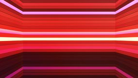 Broadcast Twinkling Horizontal Hi-Tech Bars Shaft, Red, Abstract, Loopable, 4K. Thank you for choosing this Background stock video