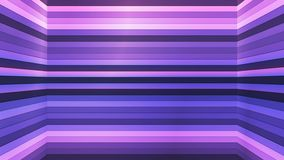 Broadcast Twinkling Horizontal Hi-Tech Bars Shaft, Purple, Abstract, Loopable, 4K. Thank you for choosing this Background stock video footage