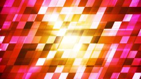 Twinkling Hi-Tech Slant Squared Light Patterns, Multi Color, Abstract, Loopable, 4K stock video footage