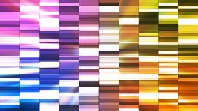 Twinkling Horizontal Small Squared Hi-Tech Bars, Multi Color, Abstract, Loopable, 4K. Thank you for choosing this Background stock video