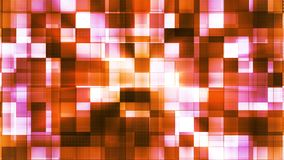 Twinkling Metal Hi-Tech Squared Light Patterns, Orange, Abstract, Loopable, 4K. Thank you for choosing this Background stock video