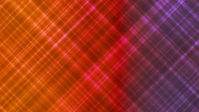 Broadcast Intersecting Hi-Tech Slant Lines, Multi Color, Abstract, Loopable, 4K stock illustration