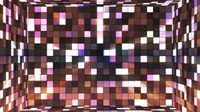 Broadcast Twinkling Hi-Tech Squares Room, Brown, Abstract, Loopable, 4K