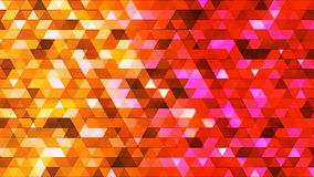 Broadcast Twinkling Polygon Hi-Tech Triangles, Multi Color, Abstract, Loopable, 4K. Thank you for choosing this Background stock video