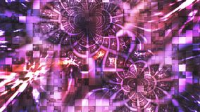 Twinkling Abstract Hi-Tech Light Patterns, Purple, Loopable, 4K. Thank you for choosing this Background stock footage