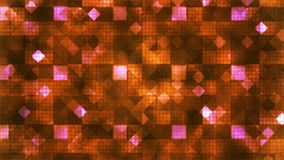 Twinkling Hi-Tech Cubic Diamond Light Patterns, Orange, Abstract, Loopable, 4K. Thank you for choosing this Background stock footage