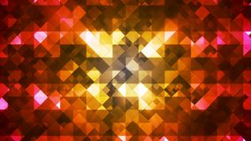 Twinkling Hi-Tech Diamond Light Patterns, Multi Color, Abstract, Loopable, 4K stock footage