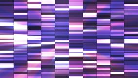 Twinkling Horizontal Small Squared Hi-Tech Bars, Purple, Abstract, Loopable, 4K. Thank you for choosing this Background stock video
