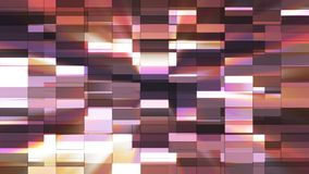 Twinkling Horizontal Small Squared Hi-Tech Bars, Purple, Abstract, Loopable, 4K. Thank you for choosing this Background stock footage