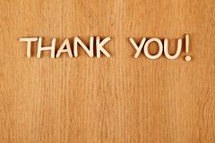 Thank you! Royalty Free Stock Photo