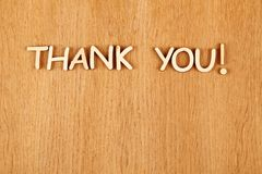 Thank you! Royalty Free Stock Photography