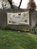Thank You, Doctors, Nurses, Essential Workers, Coronavirus, COVID-19, Rutherford, NJ, USA