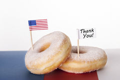 Thank You Donut Stock Images