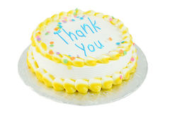 Thank you festive cake Royalty Free Stock Images