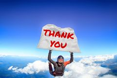 Thank you. Flag in skydiving. People in free fall.Teampleat skydiver. Extreme sport.