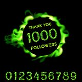 Thank you 1000 followers