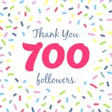 Thank you 700 followers network post