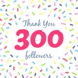 Thank you 300 followers network post