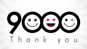 Thank you 9000 followers numbers.