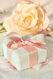 Thank You Gift At Wedding Reception Royalty Free Stock Images