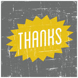 Thank You Greeting Card Stock Images