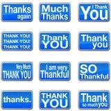 Thank You Icons Stock Photos