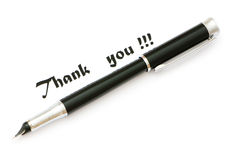 Thank you message Royalty Free Stock Photography