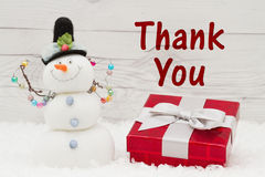 Thank you message royalty free stock images