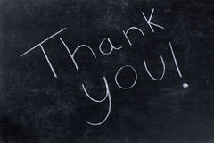 Thank you! message Stock Images