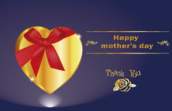 Thank you Mom,  happy mothers day. Other's Day,Concept Stock Image