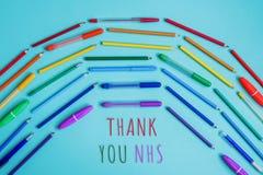 Thank you nhs rainbow banner