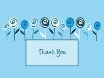 Thank You Note royalty free illustration