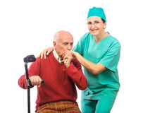 Thank you nurse Stock Photo