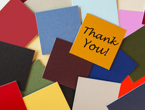 Thank You - Sign. Thank You Office Sign for Business or PR royalty free stock images