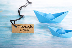 Free Thank You On A Tag Stock Photo - 38352410