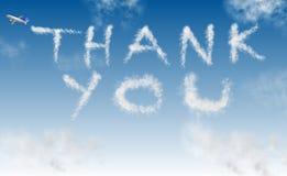 Free Thank You On Sky Stock Photos - 24723873