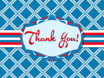 Thank You poster Royalty Free Stock Images