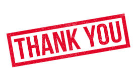 Thank You rubber stamp Stock Image