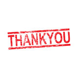 Thank You Rubber Stamp Stock Images