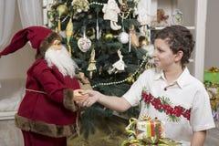 Thank you, Santa Clause Royalty Free Stock Photo
