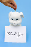 Thank You for Saving royalty free stock images