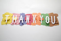 Thank you   sign Stock Image
