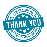 Thank You Stamp. Eps10 Vector Badge vector illustration