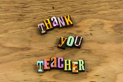Thank you teacher appreciation learning