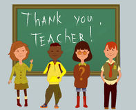 Thank you, teacher Royalty Free Stock Image