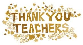 Thank You Teachers Stock Photo