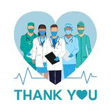 Thank you to the doctors and nurses